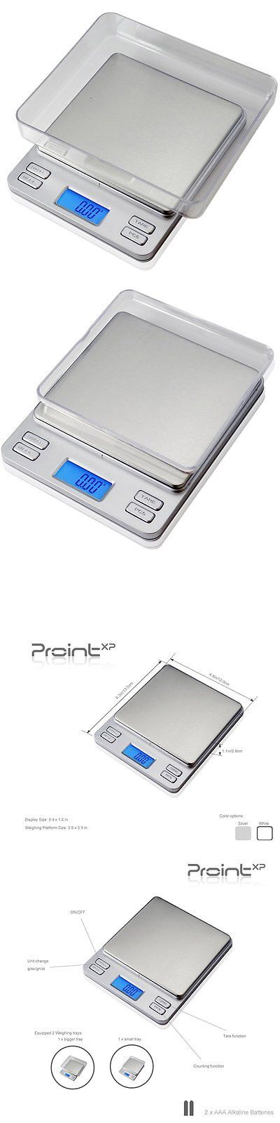 Pocket Digital Scales: Prointxpâ® High Precision Jewelry Scale Ptpt2-200, 200 By 0.01G With Blue Lcd -> BUY IT NOW ONLY: $36.46 on eBay!