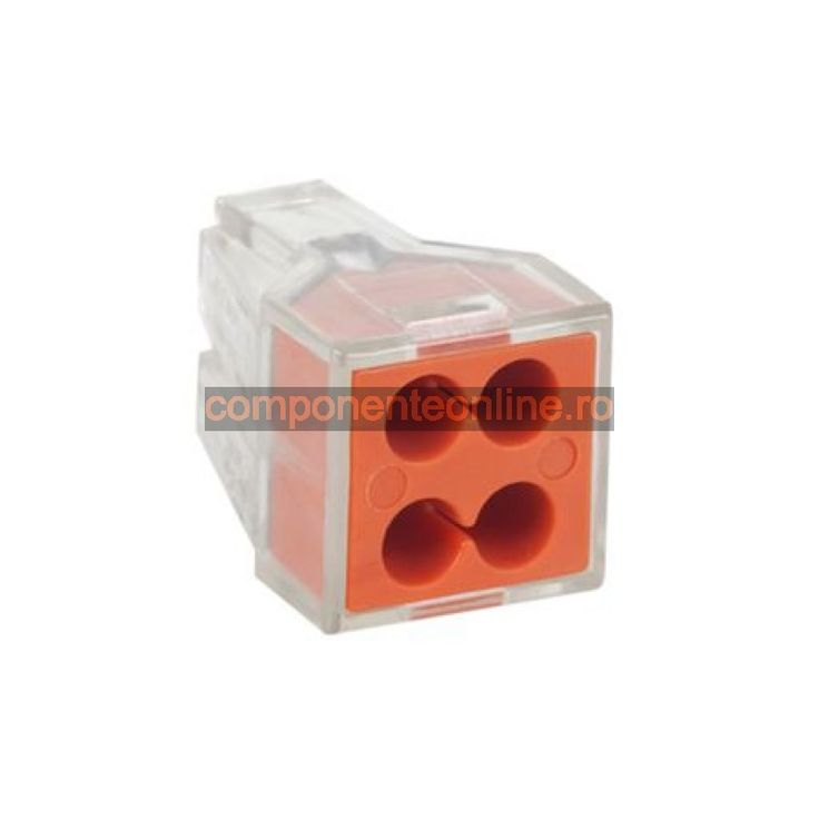 Terminal universal pentru cabluri, 4 pini, 0,75-2,5mm - 402538