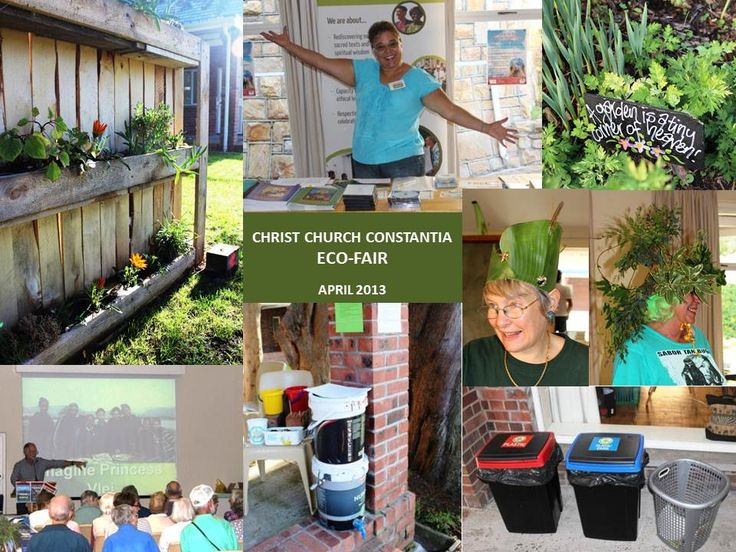 """Inspired to inspire, Christ Church Constantia in Cape Town organized an informative & fun Eco-Fair - there was such a cool """"Green Hat competition""""!!"""