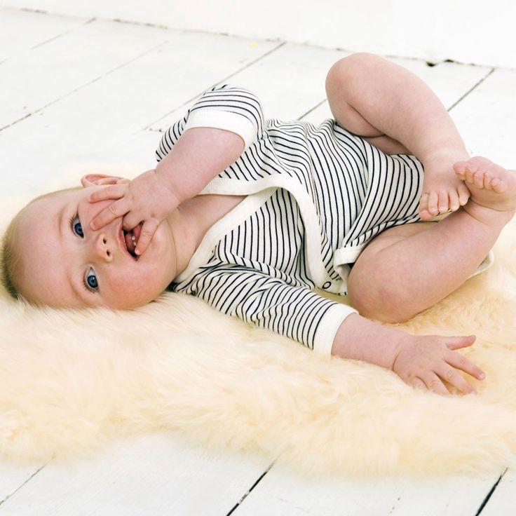 JoJo Baby Lambskin Rug. Many babies will sleep longer on a baby fleece.