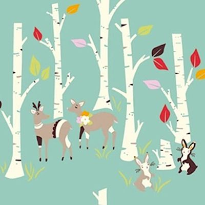 kids room - birch fabrics yay day