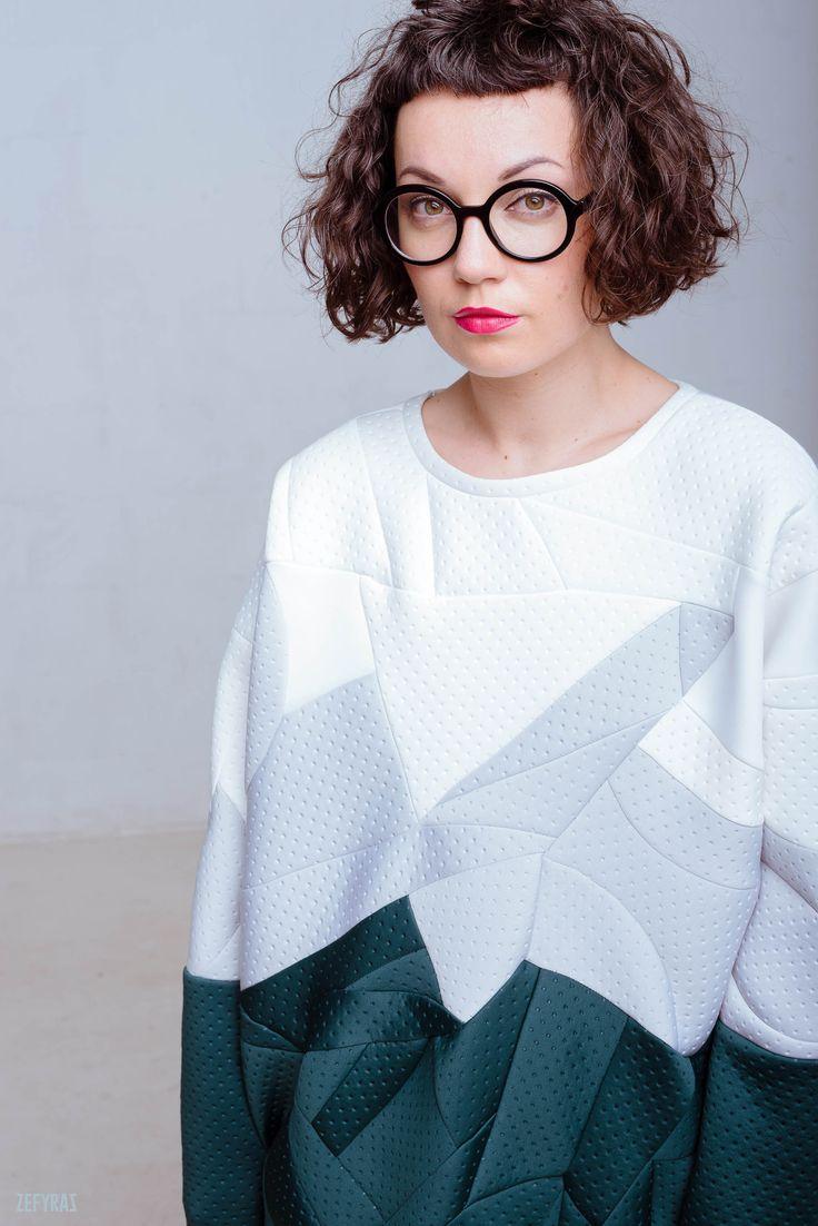 Winter Sea Dress #fashion #zefyras #zefyrasfashion #minimalist #sweater #colours #collection #details