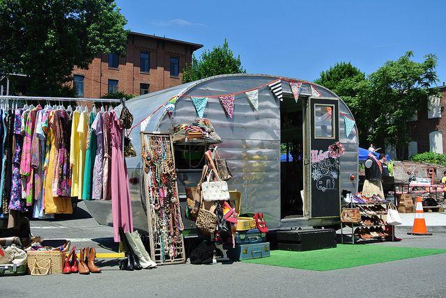 Haberdash mobile shop - instant booth set up
