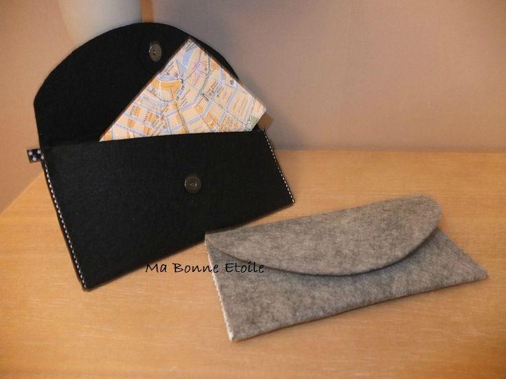Pochette en feutrine pour offrir tout ce que vous voulez ! www.facebook.com/Ma.Bonne.Etoile.fr