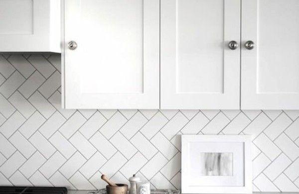 Fliesenspiegelküche – praktische und moderne Küchenrückwände – Küche – #F