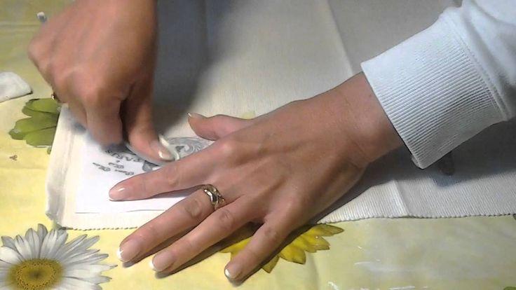 Transfer na tkaninie
