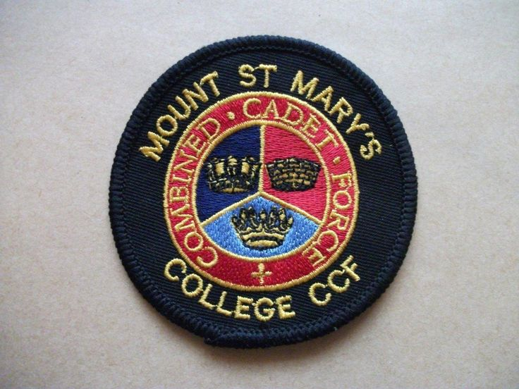 Mount St Mary's College CCF TRF Style Arm Patch BIN £4 in Collectables, Badges/ Patches, Military Badges | eBay