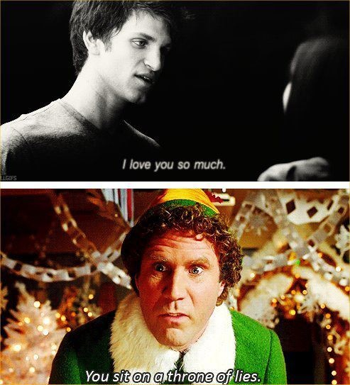 PLL !!!! smh Toby: Giggl, Funny, So True, Humor, Elves, Elf, Lie, Pretty Little Liars, Pll A Quotes
