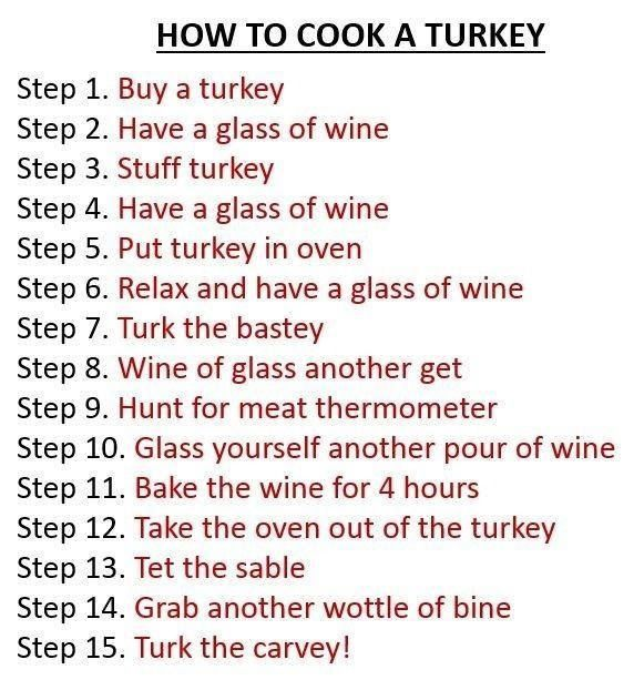 i How to cook a turkey  Wine style