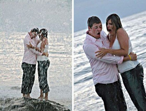 Funny Fail Engagement Photos Captured At Perfect Time - Page 2 of 3 - Funvblog