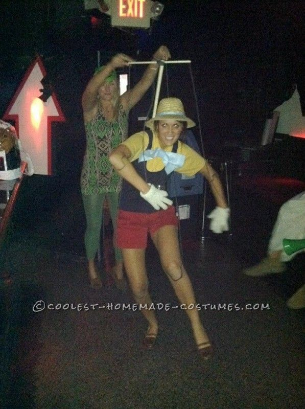 Coolest Homemade Pinocchio Costume for a Female ...This website is the Pinterest of costumes