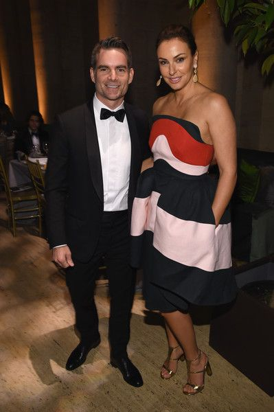 Jeff Gordon Photos Photos - Jeff Gordon (L) and Ingrid Vandebosch attend the Foundation Fighting Blindness World Gala at Cipriani 42nd Street on April 12, 2016 in New York City. - Foundation Fighting Blindness World Gala