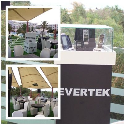 A l'occasion de la coupe du Monde 2010, Evertek met en place des animations dans des lieux prestigieux où sont diffusées les matchs du Mondial !