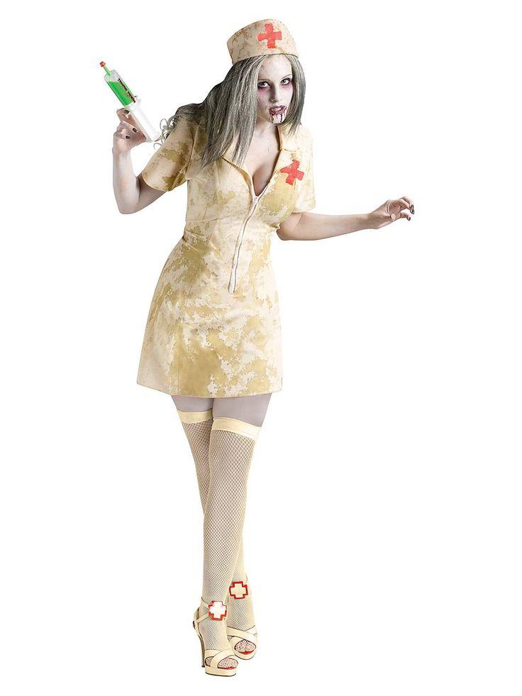 Sexy Zombie Nurse Costume | Wholesale Nurse Costumes for Adults