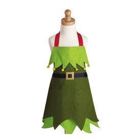 Elf Kid's Apron at Joss & Main $10.99, sold in pairs.