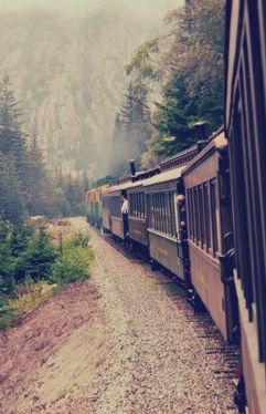 I love this picture. Take the train ride in Skagway- you won't regret it!