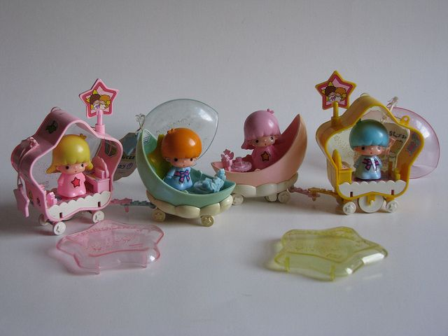 Little Twin Stars vintage mobiles ^^ by Siri_Mae_doll, via Flickr <3