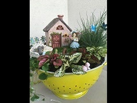 Garden Ideas Videos 50 best creating a fairy garden images on pinterest | fairies