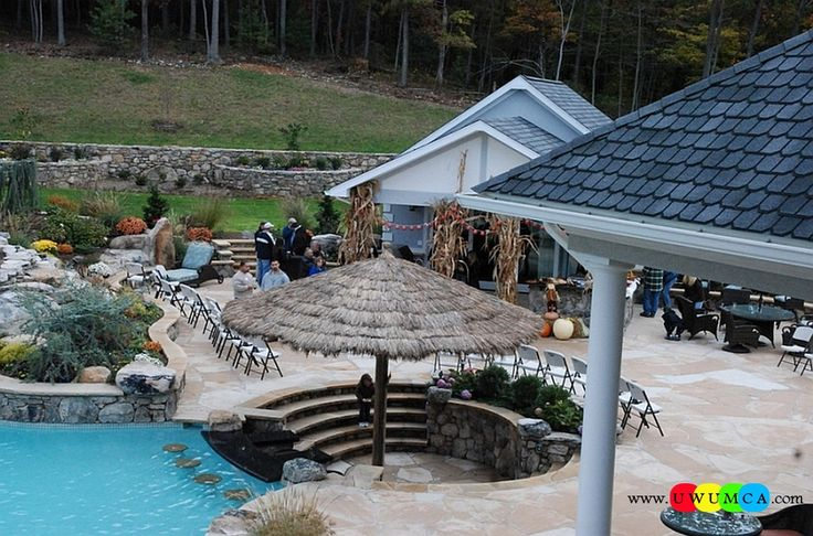 Outdoor / Gardening:Create Outdoor Lounge With Sunken Seating Area Ideas Build Conversation Pits Sunken Sitting Areas In Pool Garden Outside Decor Design Sunken Tiki Bar And Sitting Area Next To The Pool Elevate The Style Quotient Of Your Outdoor Lounge With Sunken Seating Area