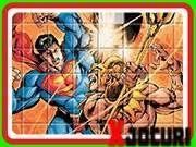 Joc cu eroul Superman puzzle