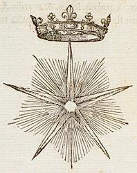 Claude Paradin - Monstrant Regibus astra viam. The star shows men the way to follow.