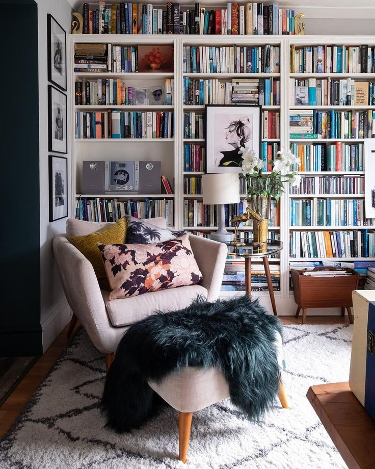 Apartment Therapy On Instagram This 1930s House In Quirky Bristol Is Home To Lou Watkins An Hr Manager By Day And A Home Library Diy Quirky Home Decor Home