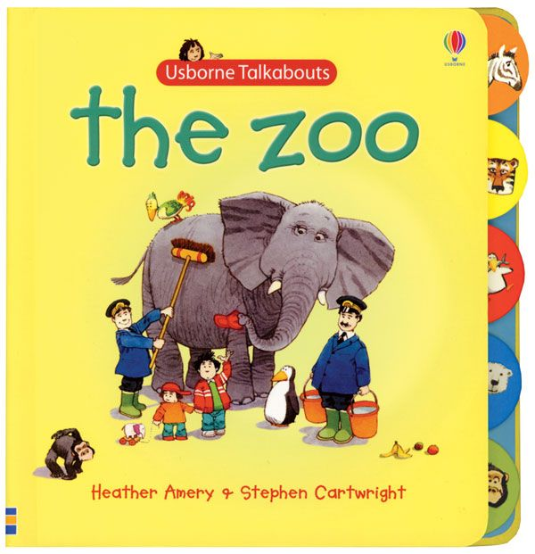 Zoo Talkabout Board Book. $8.99
