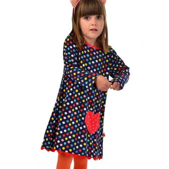 Oobi Multi Dot Lissie Dress