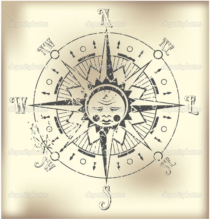 16 best Compass rose images on Pinterest