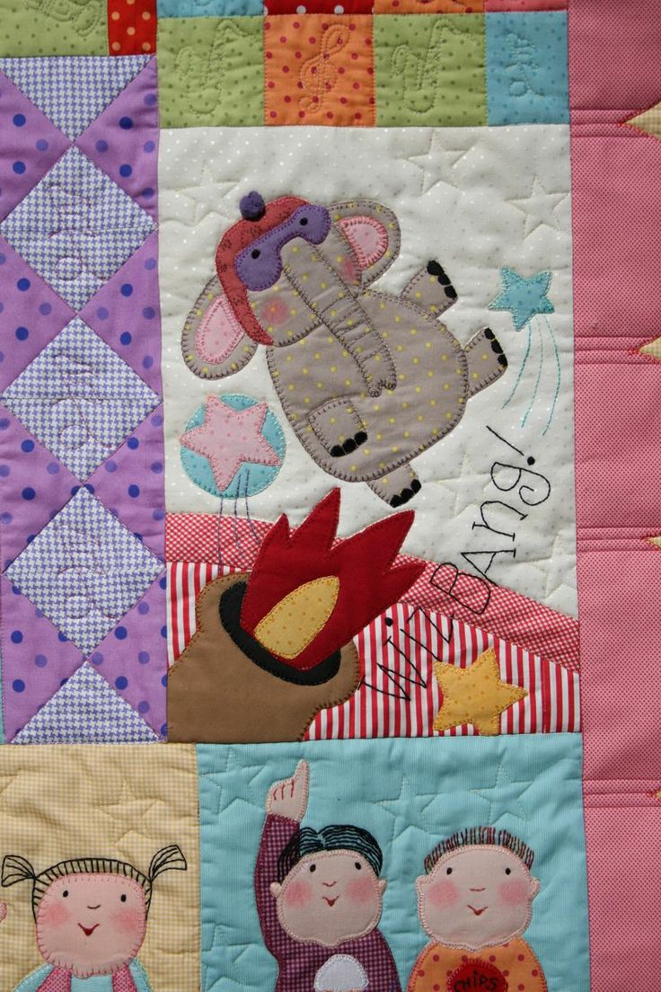 Animal Crackers quilt by Red Brolly
