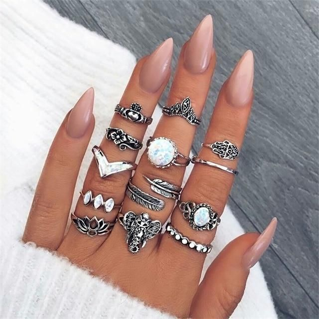 Vintage Ring Sets Multiple Styles – Jewelry