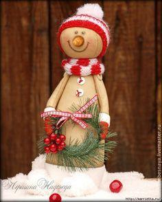 Muñeco de nieve precioso paso a paso