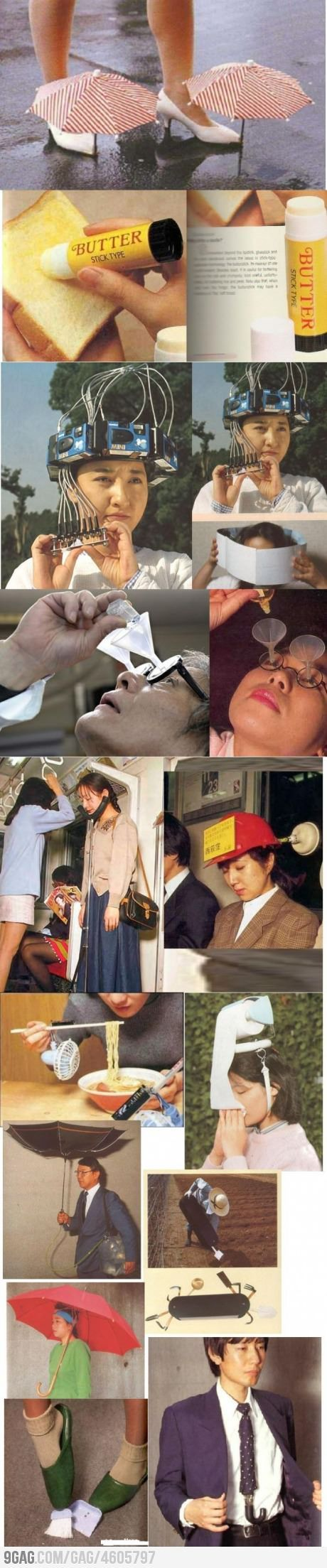 Some Useless Japanese Inventions