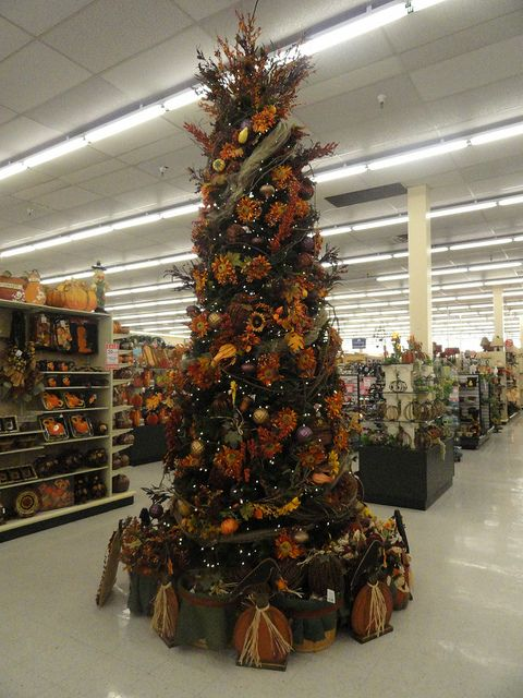 I keep telling John that we should have a thanksgiving tree!!!