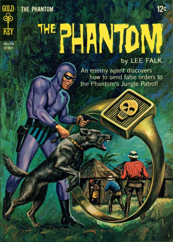 Pulp hero, the Phantom had a badass dog. <3