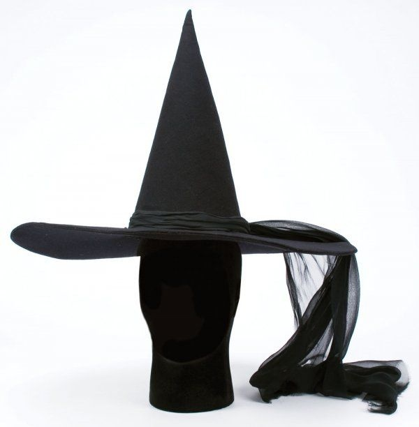 Wicked Witch of the West hat from The Wizard of Oz - Prop Archives : original movie props, screen used wardrobe