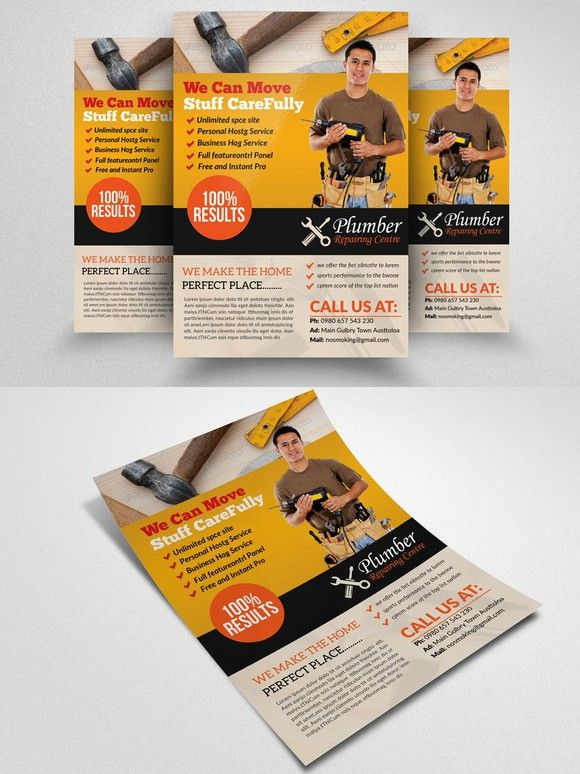 15 best Handyman flyers images on Pinterest Brochures, Flyers - handyman flyer template