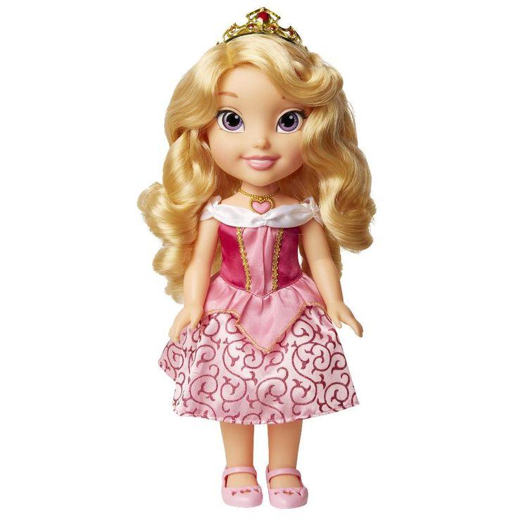 Disney Princess Sing and Shimmer Toddler Doll - Aurora