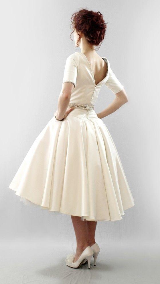 dress - back - skirt