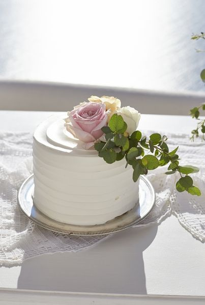 Delicious, Flowers, Details, Art, Frosting, Perfection, Greenery, Santorini Weddings
