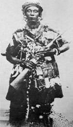 Yaa Asantewaa -  appointed queen mother of Ejisu of the Ashanti Empire. She led the 1900 Ashanti rebellion known as the War of the Golden Stool against British colonialism.