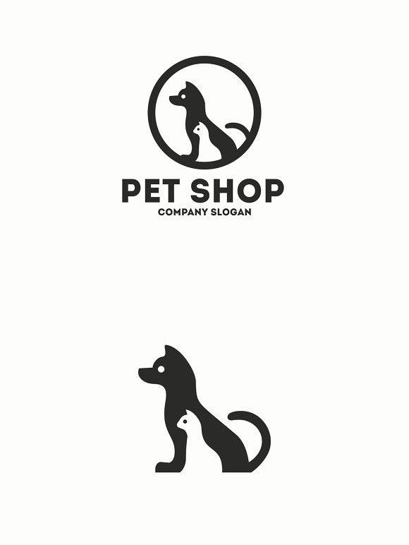 Pet Shop Logo Template Pet Shop Logo Shop Logo Pet Logo Design