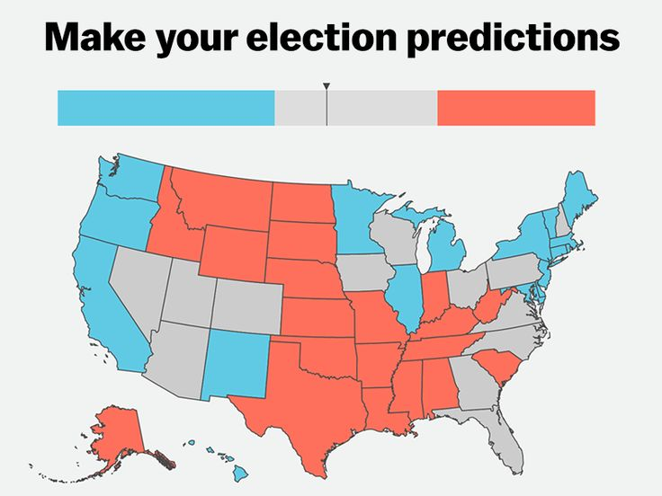 Predict Your Own 2016 Electoral College Map