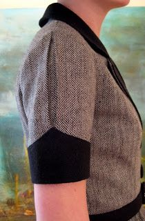 sugardale: That Wool Dress (inverted pleat sleeve)