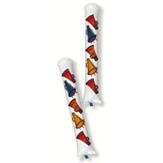 Inflatable Sport Cheer Noisemaker Party Rally Sticks - 2 Piece