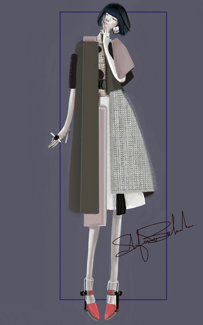 """Asimmetrico"" Sketch 
