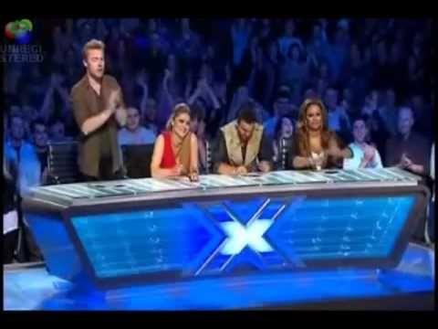 Emmanuel Kelly on X-Factor Australia -  Jury in Tränen... 17jähriger rockt Casting Show (GER SUB)
