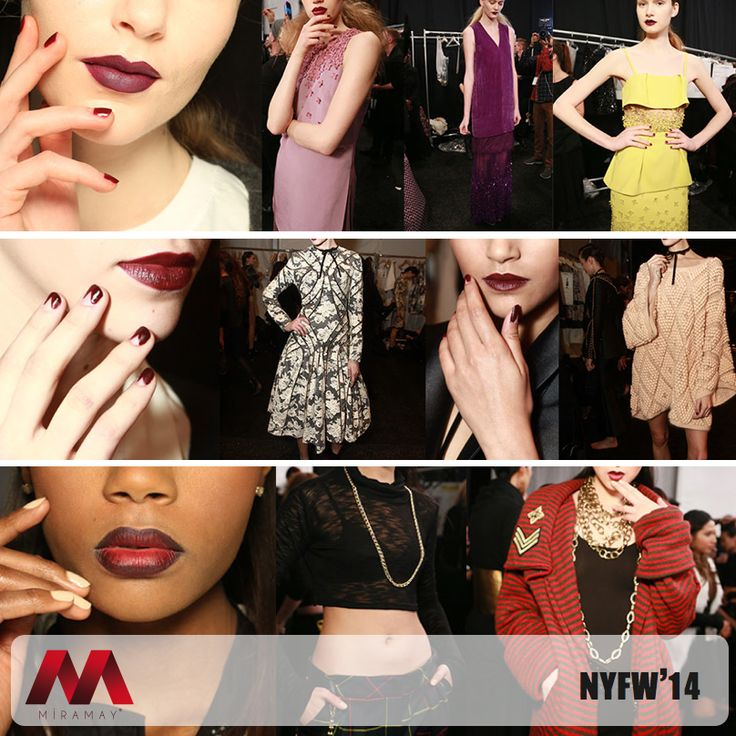NFWF 2014'de Zimmermann, Mark and Estel ve Noon by Noor gibi yaratıcı tasarımcılar, modayı bir kez daha Zoya ile tırnaklara taşıdılar.