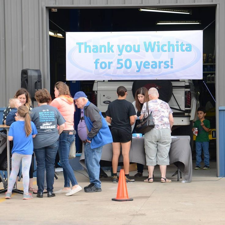 #tbt to our awesome 50th #anniversary celebration! We feel so lucky to have been a part of the #wichita community for so many years!    #ictcars #wichitacars #shoplocal  #ilovewichita #autorepair #auto #mechanic #mechanics #repairshop #mechanical #cars #carrepair #autoshop #supportyourlocalanything #ict #carspecials
