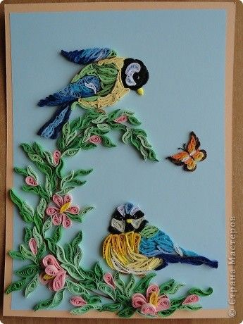 IMPORTANT: This board has already reached 500 photos. I invite you to stay in contact with me and the quilling paper work at the new board I've just created: Quilling Paper II